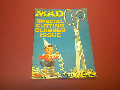 MAD magazine #75 (1962) vintage humor satire movies tv politics Alfred E. Neuman
