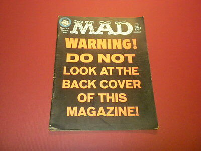 MAD magazine #73 (1962) vintage humor satire movies tv politics Alfred E. Neuman