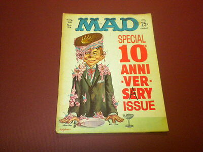 MAD magazine #72 (1962) vintage humor satire movies tv politics Alfred E. Neuman