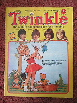 Twinkle Comic. October 24Th 1981. Lovely Comic.