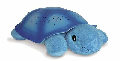 Cloud B 7323-BL Twilight Turtle Blue, Plush Toy Night Light Projects Actual Star