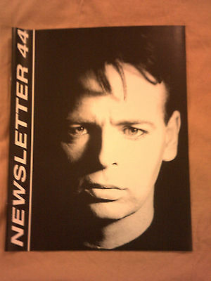 Gary Numan 'Newsletters No's 44, 45, 46, 47 and 48.  Unused.Unissued.Unopened.