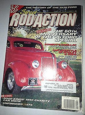 Rod Action Magazine 60th Anniversary '36 Ford Special January 1996 033117NONRH