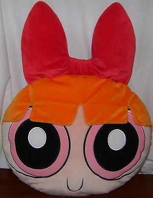 Powerpuff Girls Blossom Decorative Pillow Plush Cartoon Network 2001