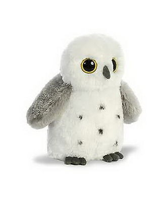 "Aurora Destination Nation Snowy Owl Plush, 8"" Stuffed Animal"