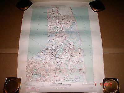 1947 Orleans Mass. Topographic Map