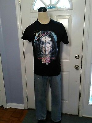 Cher - Dressed To Kill Tour T Shirt - 2014 - Sz M