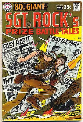 OUR ARMY AT WAR #203 F, SGT. ROCK'S PRIZE BATTLE TALES, G-56, DC Comics 1969
