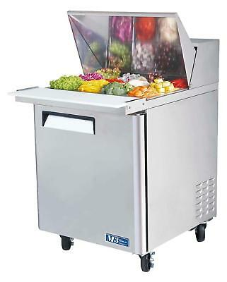 "Turbo Air 28"" Mega Top Sandwich Salad Prep Cooler 12 Pans MST-28-12"