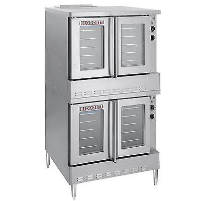 Blodgett SHO-100-E DBL Standard Full Size Double Deck Electric Convection Oven