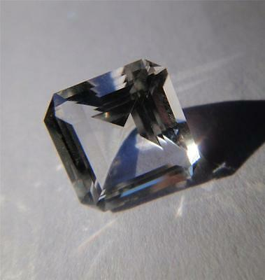 Genuine .9 Carat - Faceted NY Herkimer Diamond  - 6x6mm Square Cut - AAA