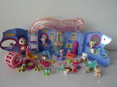 LITTLEST PET SHOP - MAISON BLEUE + FIGURINES + ACCESSOIRES -n°12-