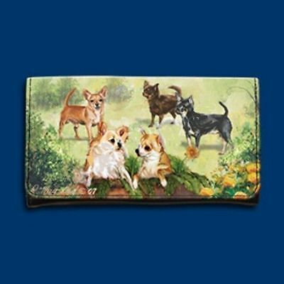 RM wallet CHIHUAHUA Ladies Wallet/Checkbook/Coin NICE!
