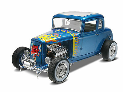 Revell USA - 32 Ford 5 Window Coupe, 1:25, Neu, Ovp, 14228