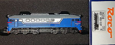 BR120 M62 Diesel locomotive of the RZD blue white Ep5 Roco 36238 TT 1:120 # HL2√