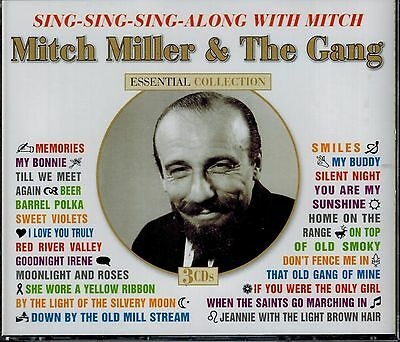 Mitch Miller & The Gang - Essential Collection - Sing Along - Mint 3 Cd Box Set