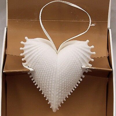 Margaret Furlong Wings of Love Heart Porcelain Ornament 1995 with box