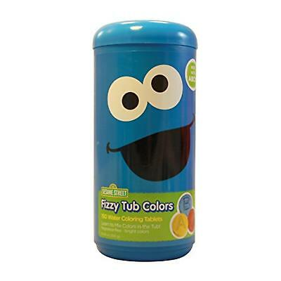 Sesame Street Fizzy Tub Colors Water Coloring Tablets 150 count (Cookie Monster)