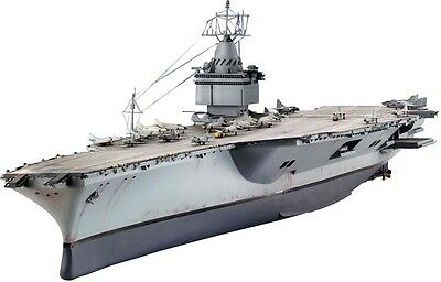 USS Enterprise Nuclear Aircraft Carrier 1/720 scale skill 4 Revell model#5046