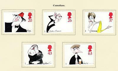 Gb # 1809-1813 Vf-Mh The Comedians 1998