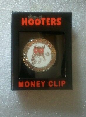 Hooters 25th Anniversary Original Money Clip (2008) Still Sealed & Never Opened!
