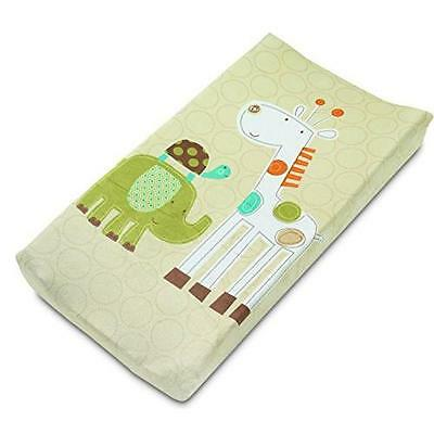 Summer Infant Ultra Plush Character Changing Pad Cover, Safari Stack New