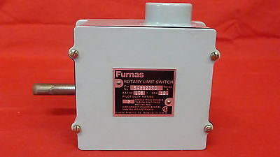 Furnas 54Bb23Fd *new* Rotating Limit Switch 2 Pole (2C3)