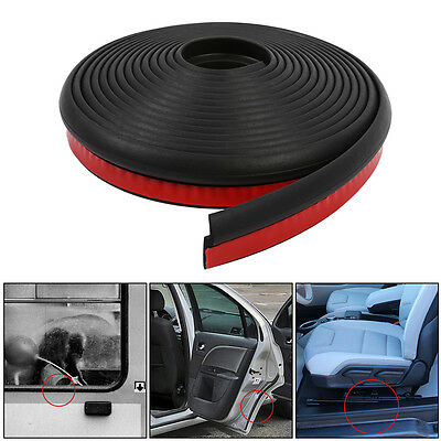 Z shape 4M Auto Car Door Window Edge Rubber Seal Hollow Weather Protective Strip