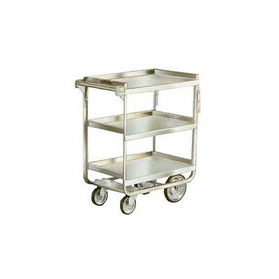 """Lakeside 711 16-1/4""""x30""""x34-1/4"""" Stainless Steel Welded Utility Cart"""
