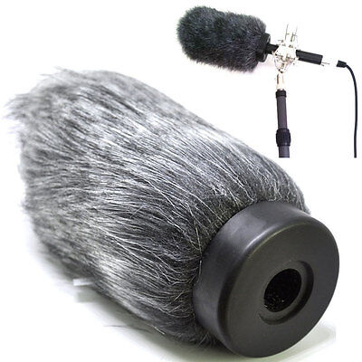 Furry Shotgun Microphone Windscreen Muff Wind Cover for Rode-NTG2 Microphone