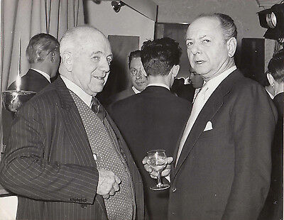 Raymond Mays & Earl Howe, At A Reception Given By Brm Early Circa 1963 Photo.
