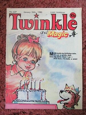 Twinkle And Magic  Comic.. No. 627.   January 26Th 1980. Lovely Comic.