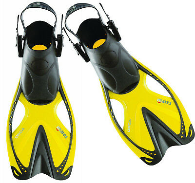 NEW Mares Orca Short Snorkel Fins Flippers - Max Propulsion - Ideal for Travel
