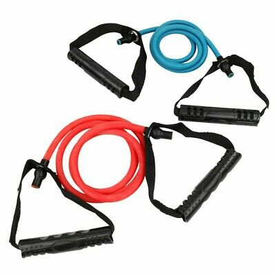 Carnegie Cross Fitness Tube Set Gymnastik-Band Widerstandsband Expander + Griffe