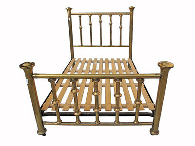 English Bronze Full Size Bed Frame - AS10894