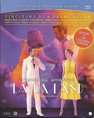 La La Land (2017) s.e. Blu Ray + CD ost