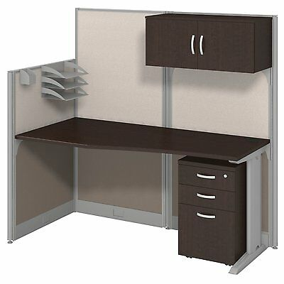 "Office Cubicals – ""Straight Workstation"" Cubicals In An Hour With Storage Kit"
