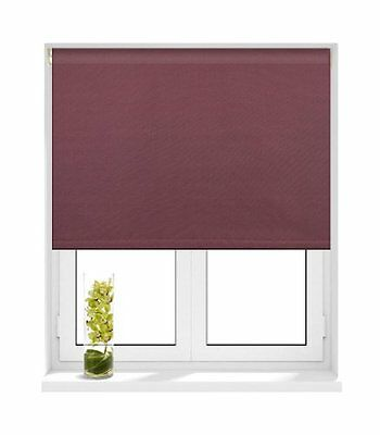 Sunlover THERMAL BLACKOUT Roller Blinds. Mauve. Sizes 60cm to 240cm