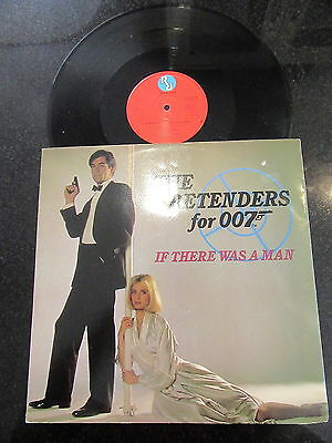 "The Pretenders For 007 ""if There Was A Man"" 1987 12"" James Bond Living Daylights"