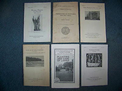 6- U.s.d.a   Department Of Agriculture & Cornell  Bulletins - Plants