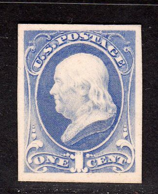 $US Sc#156P4 Mint/XF-Gem, Plate Proof on card, Cv. $300