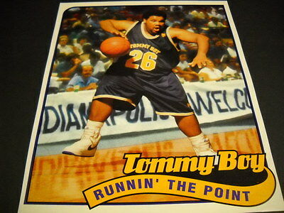 TOMMY BOY Rap and Hip Hop label are RUNNIN' THE POINT 1994 Promo Poster Ad