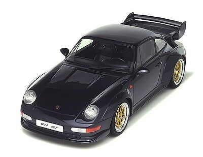 GT Spirit 1:18 Porsche 911 GT, dark blue
