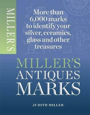 Miller's Antique Marks by Judith Miller (English) Paperback Book Free Shipping!