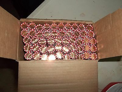 10 Rolls Of 2017D Uncirculated & Unsearched Federal Reserve 500 Pennies New Box