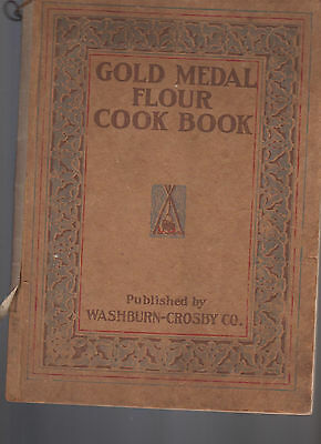 Gold Medal Flour Cook Book Washburn Crosby Co