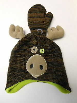 Toddler Sock Hats Mittens Reindeer Baby clothes Moose Batman Camouflage 2T-5T