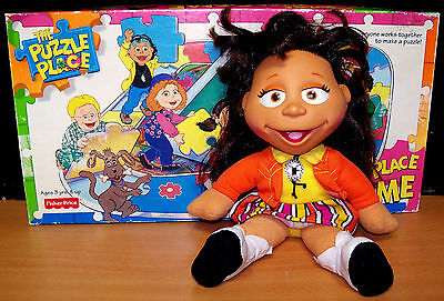 """1994 Fisher-Price Puzzle Place Kiki the Cowgirl 13"""" Doll - VGC"""