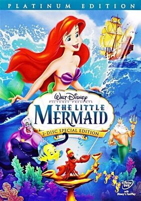 The Little Mermaid (DVD, 2-Disc Platinum Edition) Brand New and Sealed! Disney!!