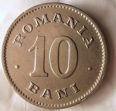 1900 ROMANIA 10 BANI - Key Coin - AU - One Year Type - FREE SHIPPING - HV29